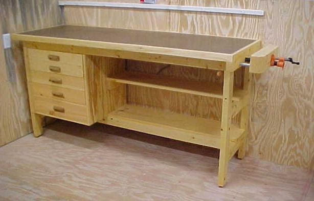 Blog Woods: Mobile woodworking bench plans