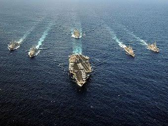 CSG-12. Фото с сайта navy.mil