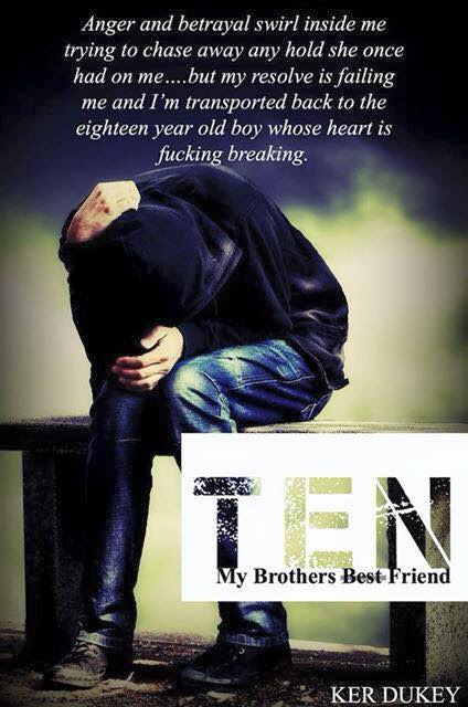 Cover Reveal: Ten (The Men By Numbers #1) by Ker Dukey