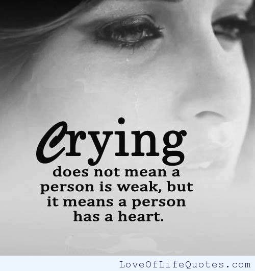 Quotes About Ok To Cry 28 Quotes