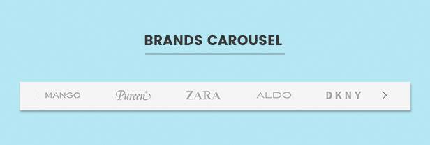 Brands carousel