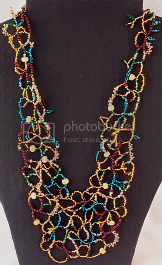 Freeform Dryad Necklace
