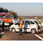 Côte-d'Or - faits divers. Cinq blessés dans un accident impressionnant sur l'A38