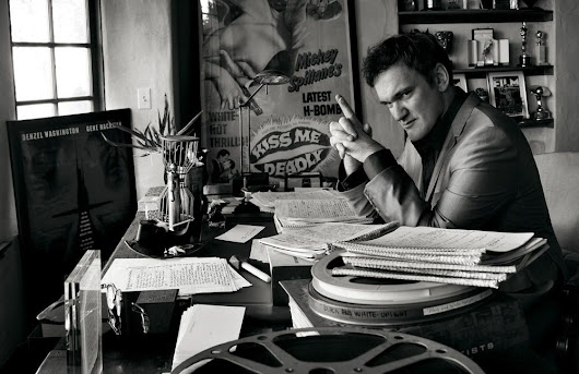 Quentin Tarantino by Mark Seliger, Vintage Italia | Vintage t-shirts, wallpapers and more