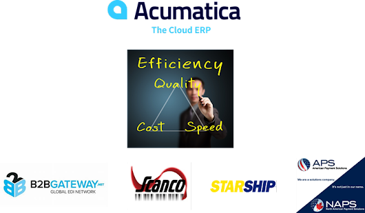 Acumatica: 4 Ways to Process More Orders, Better, Cheaper, Faster