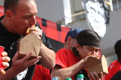 World Poutine Eating Championship crowns new top eater