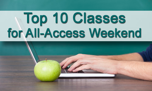The Top 10 Classes of the Free All-Access Weekend