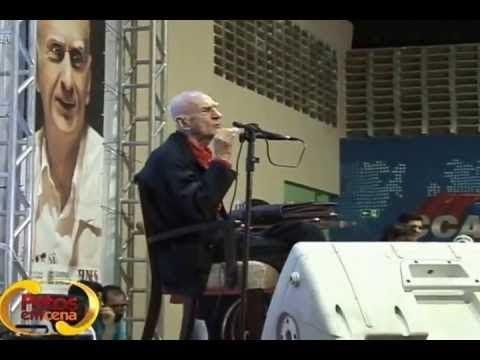 VÍDEO - Em Sua Aula-Espetáculo, Ariano Suassuna lembra José Cavalcante