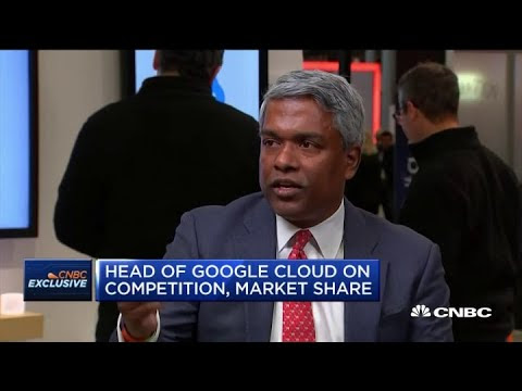 Google Cloud's CEO Thomas Kurian on the future of the platform
