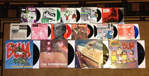 "Collection: Bum - 7""s & LPs by Tim PopKid"