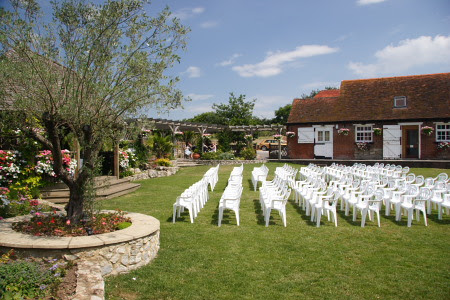 We photograph weddings at Cooling Castle Barn and at other wedding venues in