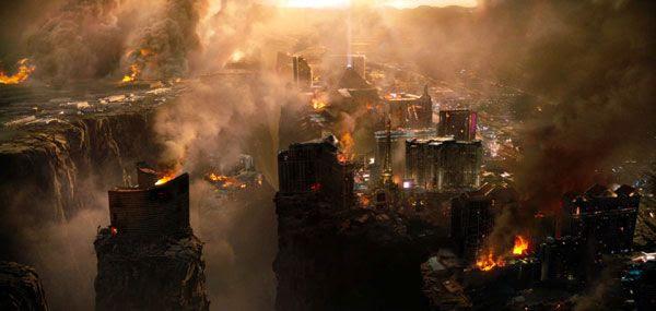 Las Vegas goes bye-bye in '2012'.