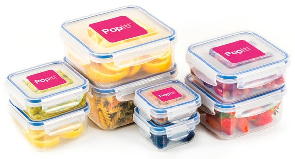 Food Storage Boxes - Sample Product Tupperware