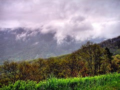 As the Clouds Devour the Mountain