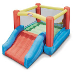Inflatable Playhouse Junior Slide Kids Toddlers Bouncer Play House Jump Castle