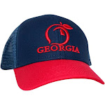 Peach State Pride Classic Trucker Hat | Navy/Red