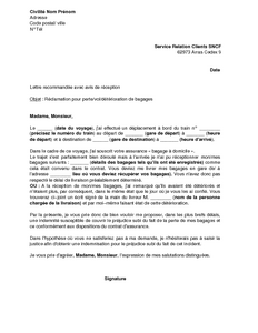 Lettre De Motivation Sncf Ingenieur