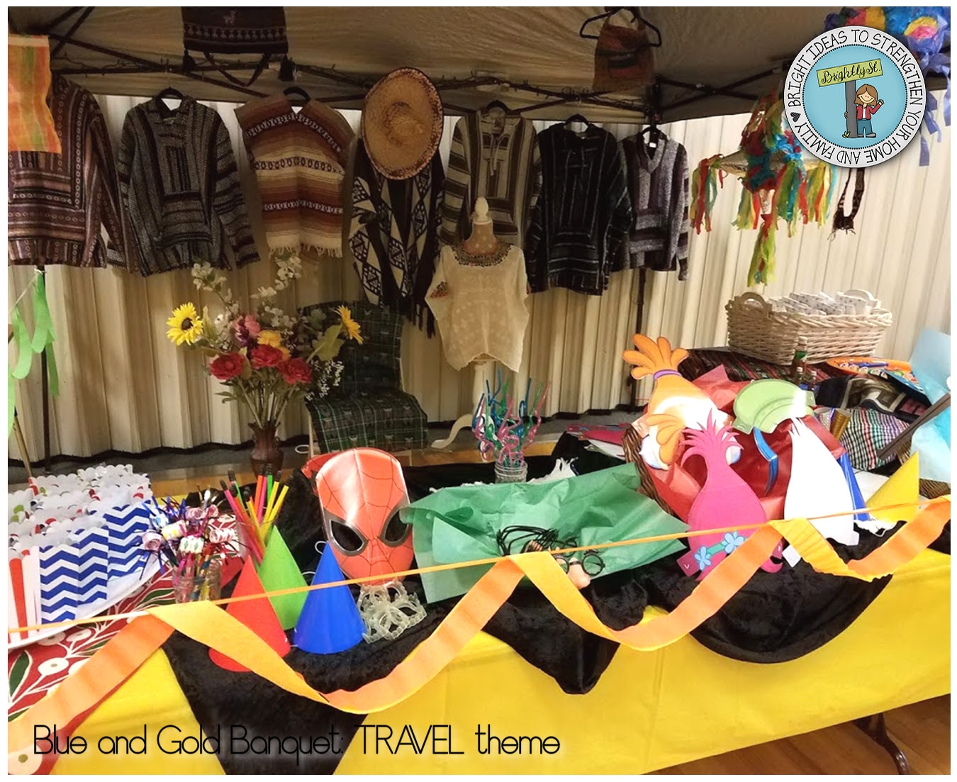 Cub Scouts Blue And Gold Banquet Travel Theme Brightly Street