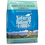 Natural Balance L.I.D. Limited Ingredient Diets Cat Food, Green Pea & Chicken Formula - 10 lbs (4.54 kg)