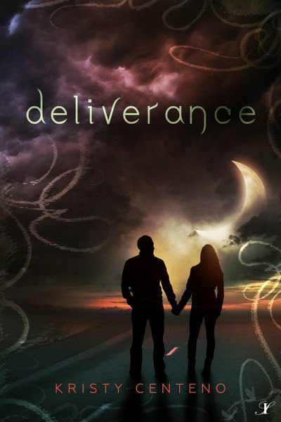 Book Cover for adult paranormal novel Deliverance from the Deliverance series by Kristy Centeno.
