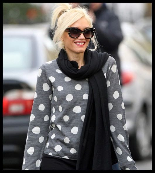 Gwen Stefani wearing Dita Vesoul Glasses