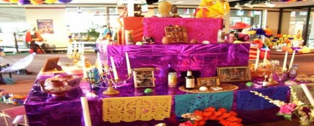 Altar Para El Día De Muertos