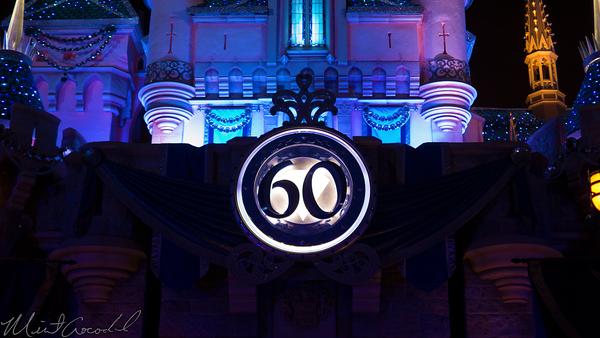 Disneyland Resort, Disneyland60, 60, Anniversary, 24, Hour, Party, Celebration, Kick, Off, Disneyland, Sleeping, Beauty, Castle, LED, Diamond, Bling, Dazzle