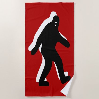 Bigfoot Beach Towel