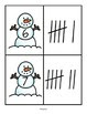 Snowman Numbers Tally Marks Match 0-20 FREE