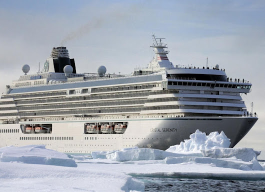 The world's most dangerous cruise? 1,070-capacity ship takes on the Northwest Passage