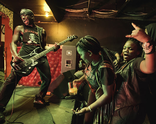 These Photos of Botswanan Metalheads Are Pretty Mind-Blowing | Mother Jones