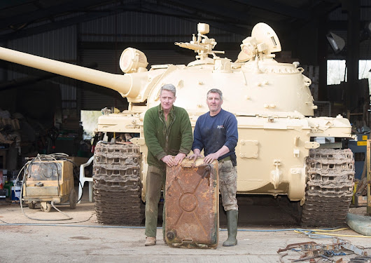 Collector shocked to find £2mil gold bullion in fuel compartment of latest tank