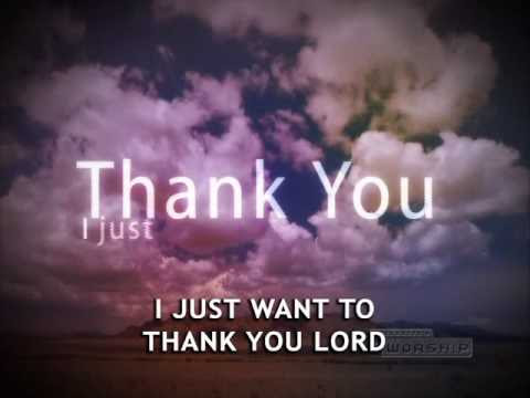Thank You Lord Music Playlist