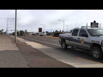 Militares Transportan Misil Nuclear en Estados Unidos / Nuclear Weapon Gets Rear ended