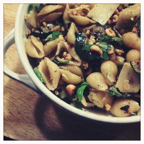 Ontzettend lekkere pasta toch niet pesto