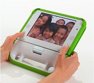 100 dollar laptop: ebook mode
