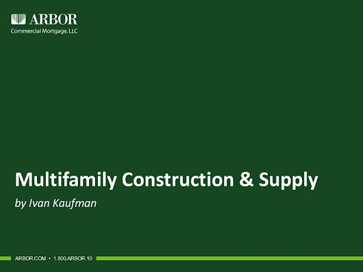 Multifamily Construction & Supply