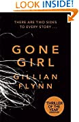 Gone Girl by Gillian Flynn book cover