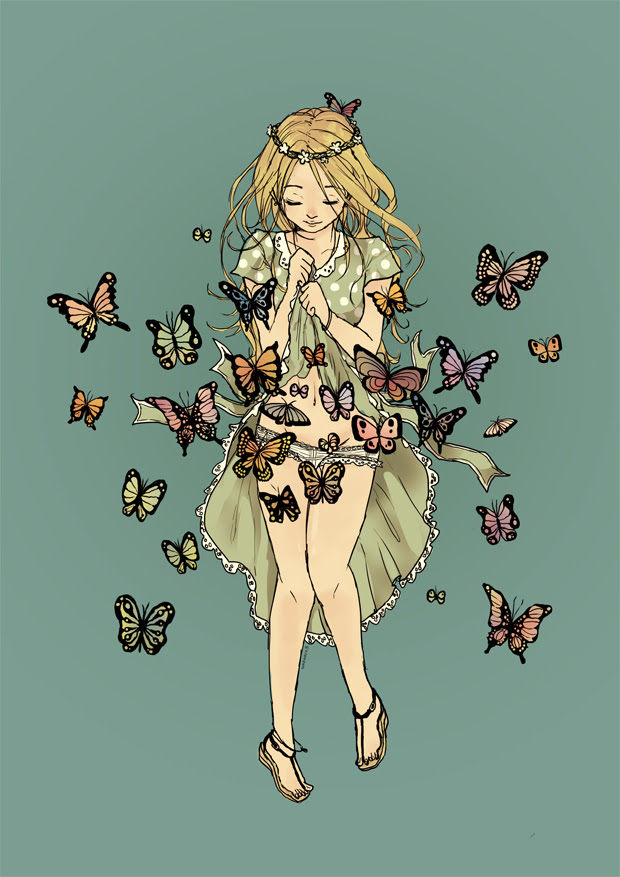 Butterflies In Stomach Love Mit Hillel