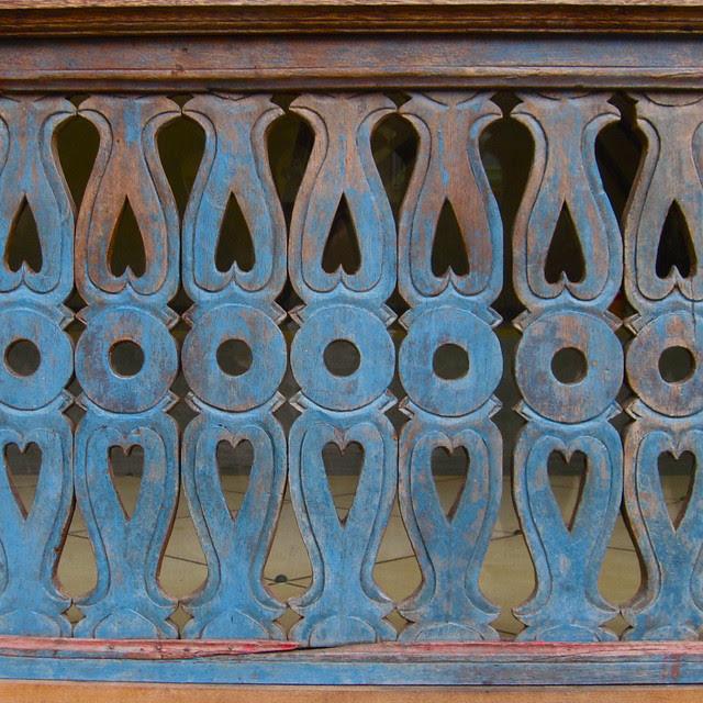 Railing detail, Ubud