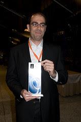 Roberto Chinnici, JCP Party, JavaOne 2009 San Francisco
