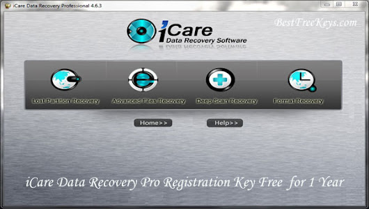 iCare Data Recovery Pro Registration Key Free Full Version