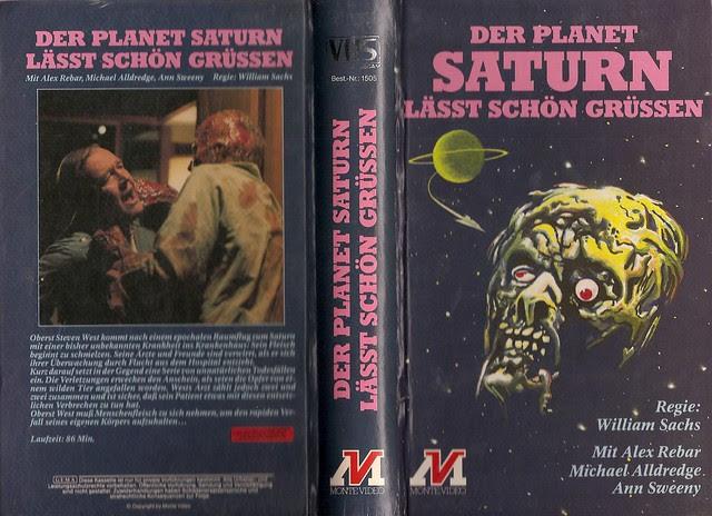 The Incredible Melting Man (VHS Box Art)