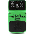 Behringer TO800 Vintage Tube-Sound Overdrive Effects Pedal, Green