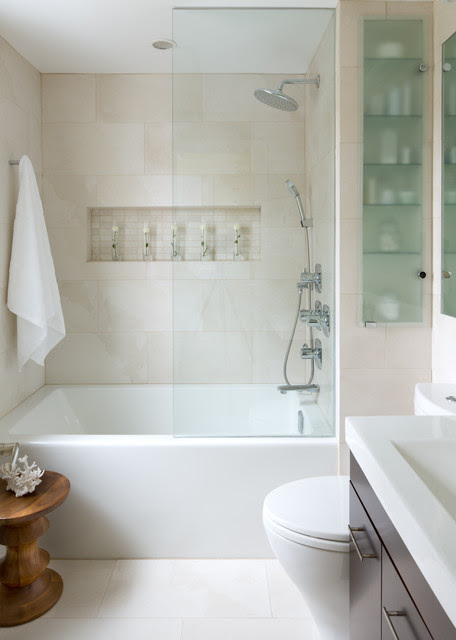 Small Space Bathroom - Contemporary - Bathroom - other metro - by Toronto Interior Design Group | Yanic Simard