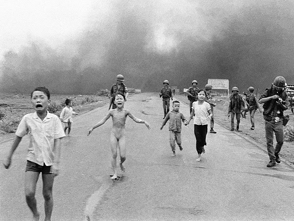 Image result for napalm girl