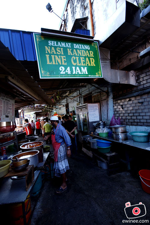 Penang Line Clear nasi kandar
