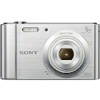 Sony DSCW800 20.1MP 5X Optical Zoom Digital Compact Camera Silver