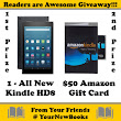 "YourNewBooks.com's ""Readers are Awesome"" Giveaway"