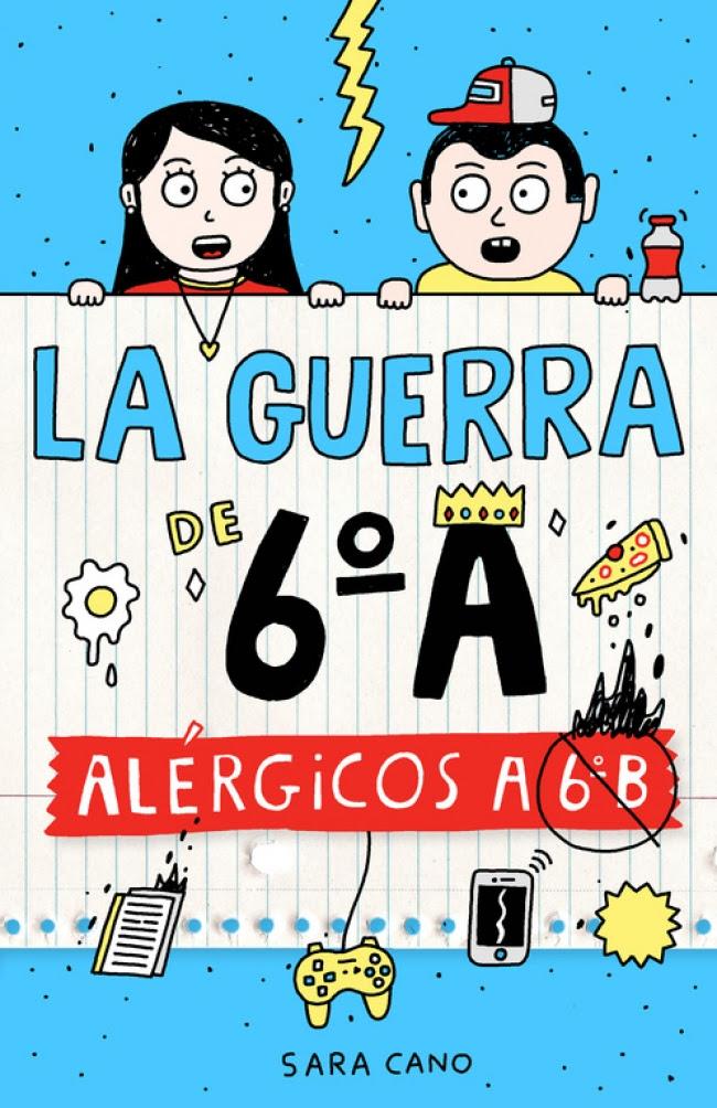 Resultado de imagen de portada de LA GUERRA DE 6ºA